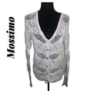 Mossimo Open Knit Cardigan Size XL